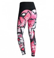 FeelJ Graffiti női fitness legging