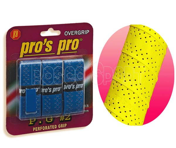 Pro's Pro Perforated fedőgrip 3 db, kék