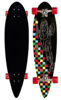 Black Dragon Pintail ZWR longboard