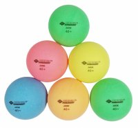 Donic Colour Poppy Poly 40+ ping-pong labda, 6 db