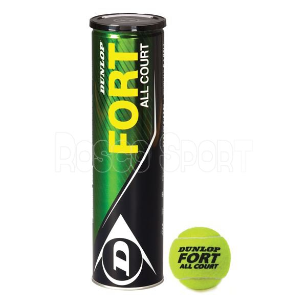 Dunlop Fort All Court teniszlabda, 4 db