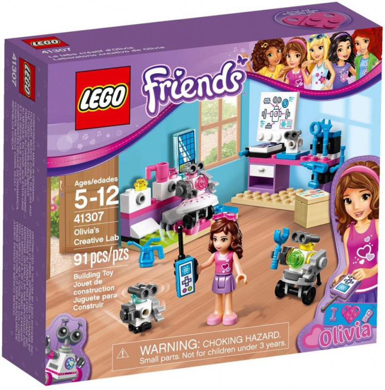 LEGO Friends - Olivia kreatív laborja