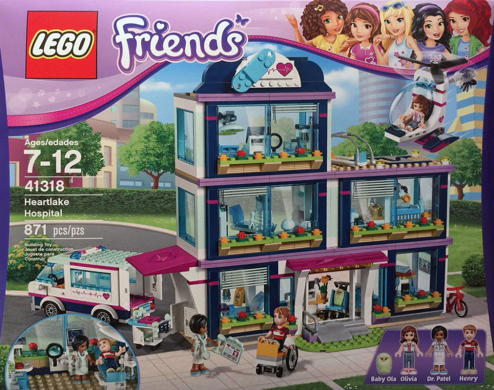 LEGO Friends - Heartlake kórház
