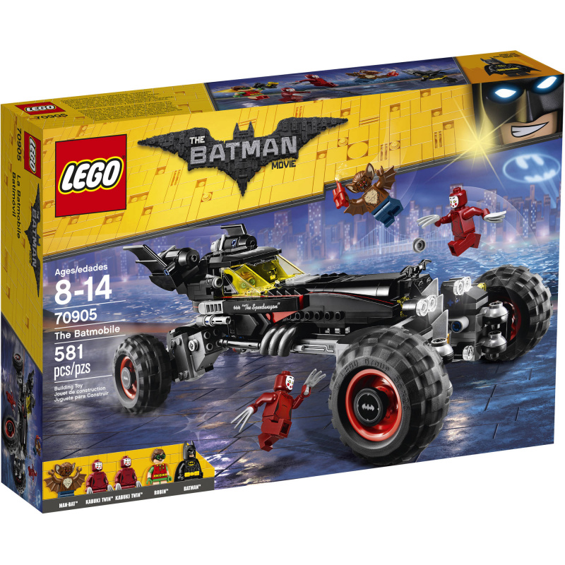 LEGO Batman Movie - Batmobil