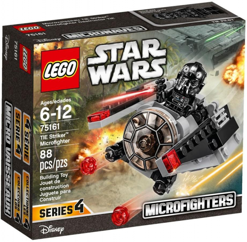 LEGO Star Wars - TIE Harcos Microfighter