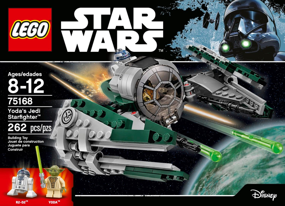 LEGO Star Wars - Yoda Jedi Starfighter