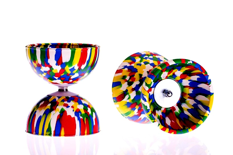 Play Rainbow diabolo, multicolor