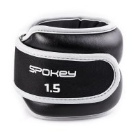 Spokey Cross Form csukló-, bokasúly 2x1,5 kg